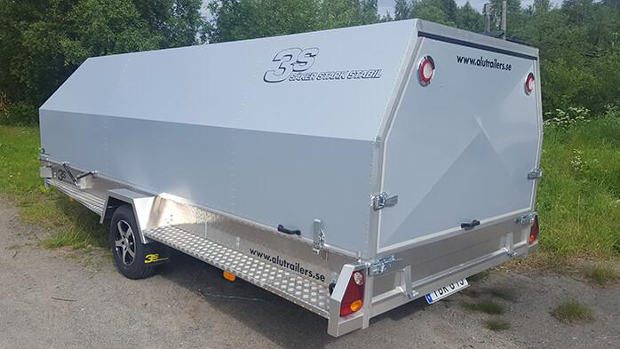 aluminiumkåpor till släpvagn